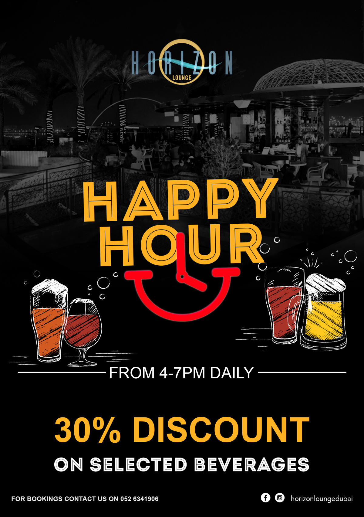 Happy Hour at Horizon Lounge!